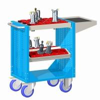 Vozík pojízdný CNC, s držáky ISO-SK 30, 30-10100-33