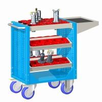 Vozík pojízdný CNC, bez držáků nástrojů, 30-10100-40