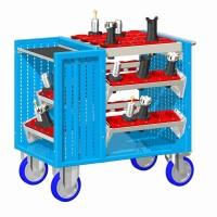 Vozík pojízdný CNC, bez držáků nástrojů, 30-10400-09