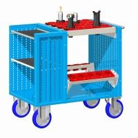 Vozík pojízdný CNC, bez držáků nástrojů, 30-10400-10