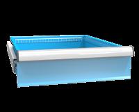 Zásuvka ZE (27x36D) plný výsuv 100%, ZET200