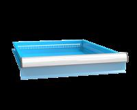 Zásuvka ZE (27x36D)s pojistkou jednoduchý výsuv 88%, ZEE100P
