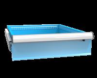 Zásuvka ZE (27x36D) s pojistkou plný výsuv 100%, ZET150P