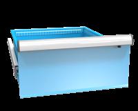 Zásuvka ZE (27x36D)s pojistkou plný výsuv 100%, ZET300P