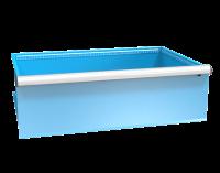 Zásuvka ZG(54x36D) s pojistkou jednoduchý výsuv 88%, ZGE300P