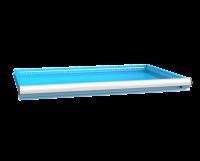 Zásuvka ZG(54x36D) s pojistkou jednoduchý výsuv 88%, ZGE75P