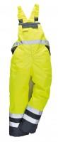 Zateplené reflexní laclové kalhoty S489