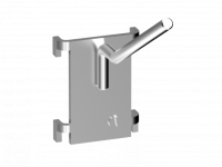 Závěsný program lomený jednoduchý háček, YB2