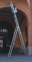 Žebřík víceúč. 3-dílný, délka 4, 36 m, výška 5, 46 m, 3x7 příčlí