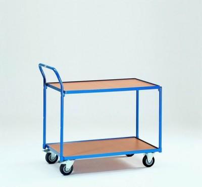 FETRA Manipulační vozík s 2 odkládacími policemi - 2742