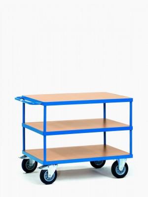 FETRA Manipulační vozík se 3 odkládacími policemi - 2422