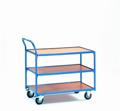 FETRA Manipulační vozík se 3 odkládacími policemi - 2752