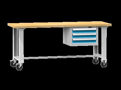POLAK Mobilní pracovní stůl MPS, MPS3-820M