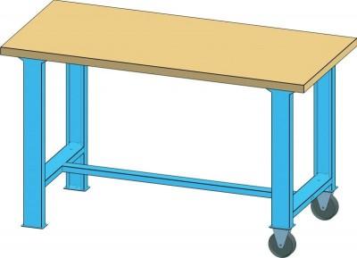 POLAK Mobilní pracovní stůl MPS, MPS4-720M