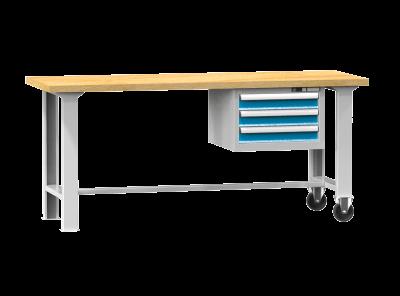 POLAK Mobilní pracovní stůl MPS, MPS6-720M