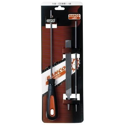 BAHCO Pilník na ostření řetězu 168-COMBI-4.0