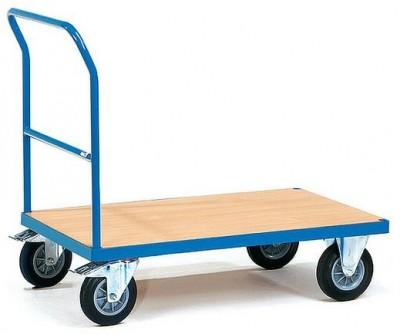 FETRA Plošinový vozík, ložná plocha 1000x600 mm - 2501