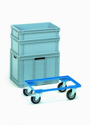 FETRA Přesouvací vozík pro plastové bedny 600x400 mm - 13580