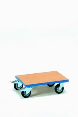 FETRA Přesouvací vozík pro plastové bedny s dřevěnou výplní 600x400 mm - 13582