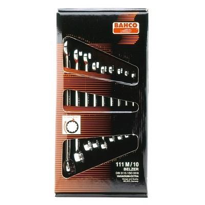 BAHCO Sada OP klíčů 10-ti dílná, vel.8-22, v krabici