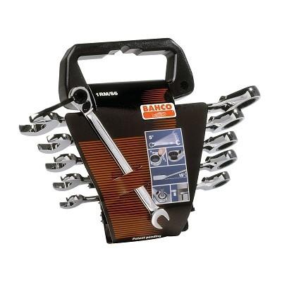BAHCO Sada OP ráčnových klíčů 12-ti dílná, 8-19mm